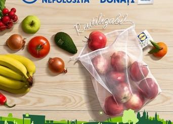 Saculeti reutilizabili Lidl Romania
