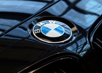 FILE PHOTO: A logo of German luxury carmaker BMW, is seen ahead of the company's annual news conference in Munich, Germany, March 20, 2019. REUTERS/Michael Dalder/File Photo