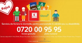 Vizual_Livrare telefonica pentru varstnici si persoane cu dizabilitati_Kaufland Glovo Fundatia Regala Margareta a Romaniei