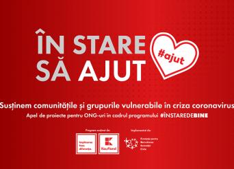 KV Apel proiecte finantare ONG in context coronavirus-In stare sa ajut-Kaufland Romania si FDSC