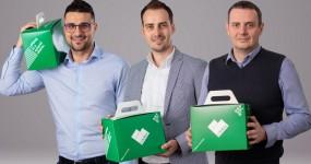 Radu Balaceanu, Florin Scarlat, Lukasz Kuzniar, cofondatori LifeBox