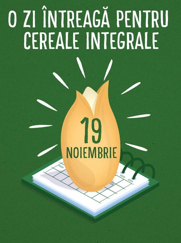 Ziua Internationala a Cerealelor Integrale